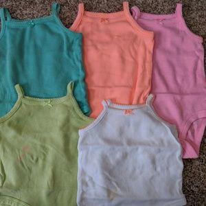 Carter's bodysuits size 3 months
